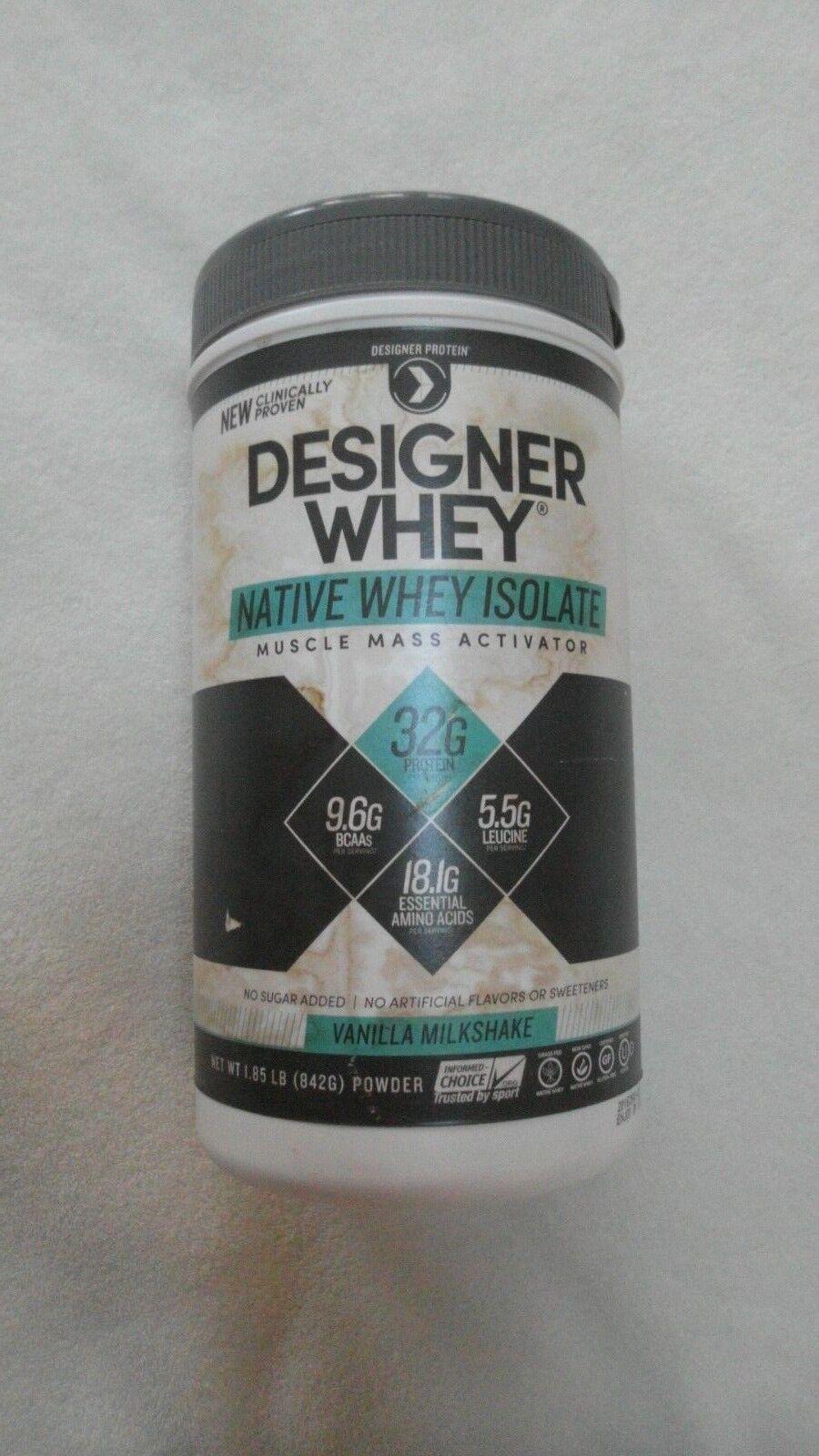 Designer Protein Designer Whey Native Whey Isolate Vanilla M