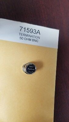 Agilent 71593a 50 Ohm Bnc Termination New