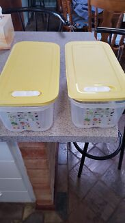 Tupperware Containers x 2