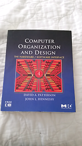 Computer Organization and Design 4th edition Peppermint Grove Cottesloe Area Preview