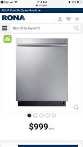 """Samsung - 24"""" Tall Tub Built-In Dishwasher ALL Stainless Steel"""