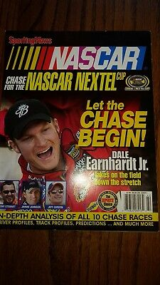 Sporting News Nascar Chase For The Nascar Nextel Cup Magazine Great Condition