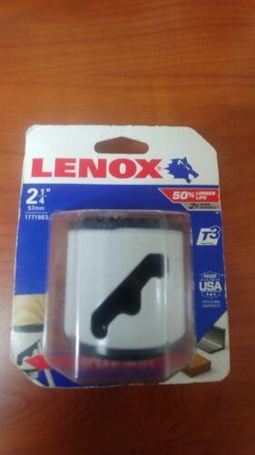 """Lenox Tools 1771983 2-1/4"""" 57mm Bi-Metal Speed Slot Hole Saw, NEW"""