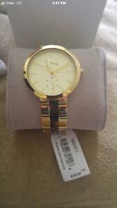 BRAND NEW MICHAEL KORS WOMENS GOLD WATCH!!!