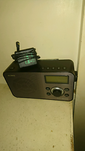 Sony dab dab+ digital radio model XDR-S60DBP Brighton East Bayside Area Preview