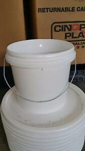 4 ltr , 10ltr  plastic bucket, pail with lid Rocklea Brisbane South West Preview