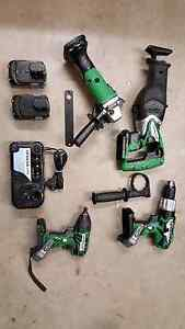 Multiple items Hitachi 18v cordless power tools Brookwater Ipswich City Preview
