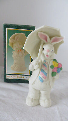 Jade Collection White Male Bunny Figurine