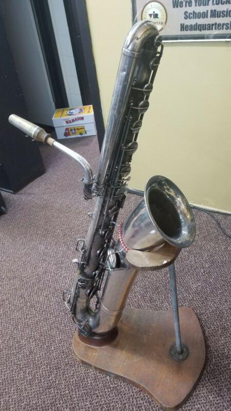 Buescher Bass Saxophone