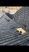Roof repairs, eavestrough repairs and cleaning