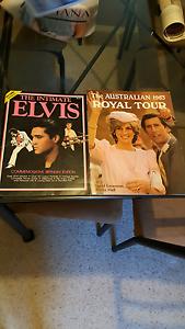 Elvis Presley and Princess Diana limited edition memorabilia Mentone Kingston Area Preview