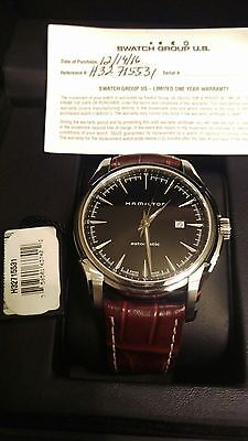 NEW! Hamilton Jazzmaster Viewmatic Men's Watch- H32715531 ON SALE UNTIL MONDAY!