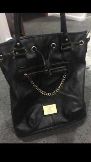 Wanted: Kk Black Leather Bag