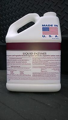 COMMERCIAL DRAIN LINE AND GREASE TRAP CLEANER ALL NATURAL 1 GALLON