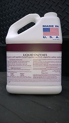 COMMERCIAL DRAIN OPENER AND GREASE TRAP CLEANER TREATMENT ALL NATURAL 1 GALLON