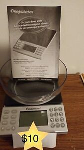 Kitchen Scale from Weight Watchers- prices lowered