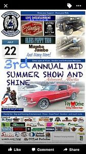 3rd Annual Mid Summer Show and Shine