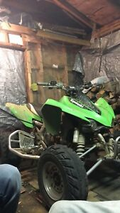 2010 kfx450r with papers