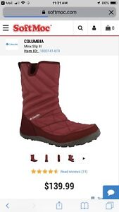 Brand New Awesome Warm Anti-Slip Columbia Ladies Boots Size 9