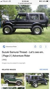 I am looking for a lwb samurai