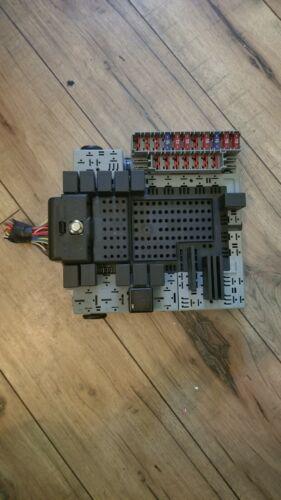 1999-2004 volvo s80 oem relay block fuse box/panel rear mounted 9401802