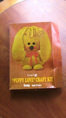 1970 Springbok Puppy Love Craft Kiy Scamp  Unused