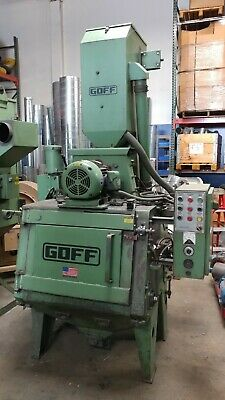 Goff 3bb 3 Cf Tumble Blast Shotblast Machine