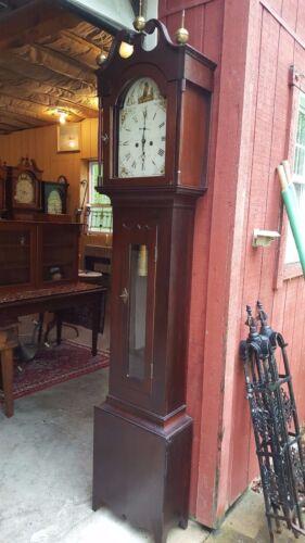 Antique American Tall Case / Grandfather Clock c. 1875