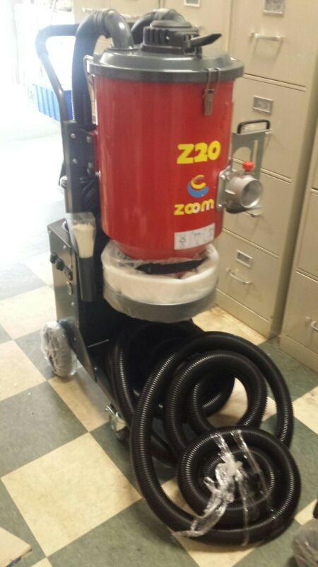 2-motor Industrial Hepa Concrete Vac