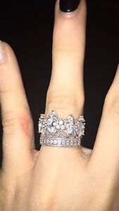 5 point crown ring