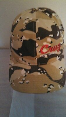 Trucker Hat Baseball Cap Cruz Energy Services Llc Camo Flexfit Yupoong Size S M