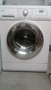 LG inverter 7.5kg  Front Loading washing machine Seven Hills Brisbane South East Preview