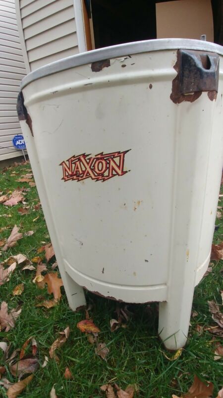 Rare Antique Mini Naxon Swivel Wringer Washing Machine
