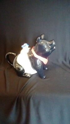 Alfred & Sapota Ceramic Pig Teapot