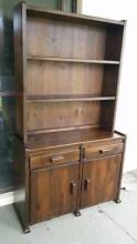 Wooden hutch removal book case on top Benowa Gold Coast City Preview