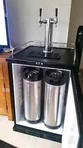 Twin tap kegerator complete setup only been used twice. Berkeley Vale Wyong Area Preview