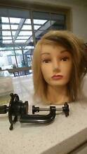 Hairdressing Mannequin head and clamp Brookfield Melton Area Preview