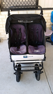 Urban Life Mountain Buggy Twin Pram with Buggy Board $145   In go Huntingdale Gosnells Area Preview
