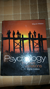 Psychology themes & variations 8th edition Haberfield Ashfield Area Preview