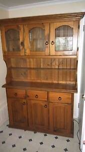 Solid Timber 3 door 3 drawer Buffet and Hutch Ipswich Ipswich City Preview