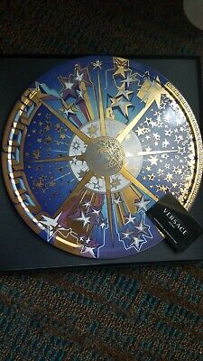 Rosenthal Meets Versace Home Infinite Dreams Tartar Cake Platter Christmas