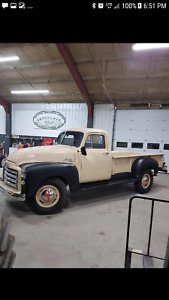 1953 Gmc 1 ton rare 9 foot box showroom condition bone stock org