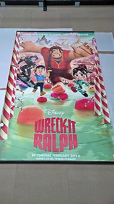 WRECK-IT RALPH 8x5ft ORIGINAL CINEMA BANNER Poster - Candyland  Black Friday - Candyland Banner