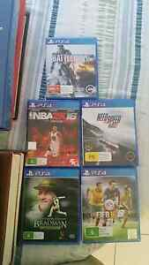 PS4 games - sell or swap Modbury Heights Tea Tree Gully Area Preview