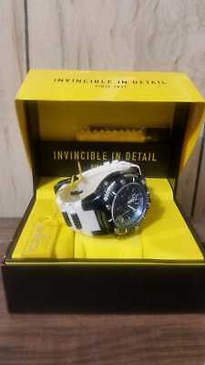 Invicta Men's 50mm Bolt Chronograph blue Dial Gold Plated Stainless Steel Watch