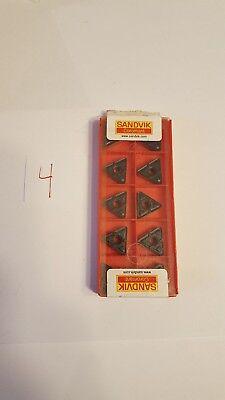 Sandvik Lathe Turning Insert - Triangle - Tnmx 16 04 12-wm 333-wm 4205 - 10x