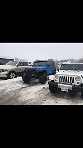 2011 Jeep Wrangler Unlimited Lifted. 180,000 KM Warranty