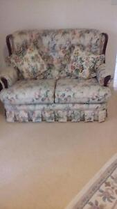 2 seat sofa lounge and 2 single arm chairs Yamanto Ipswich City Preview