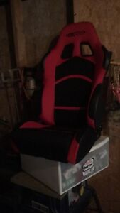 Reactive racing  seats like new