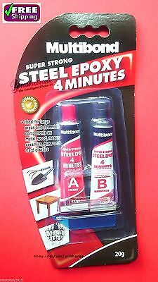 Super Strong Steel Epoxy Multibond 4 Minutes For Metal Wood Masonry Ceramics